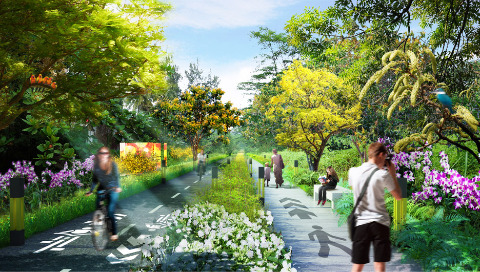 18 Urban Projects Like New York's High Line - reclaim rail & roads to parks - Lines-of-Life_Nikken-Sekkei
