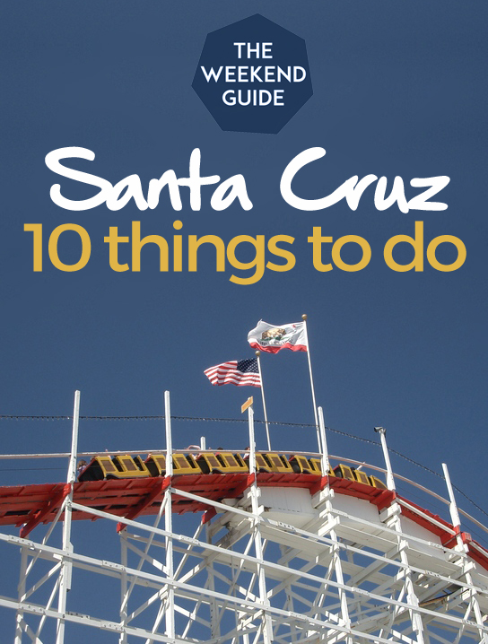 10 Things To Do in Santa Cruz, California - Santa Cruz is a small town but there is a lot to do, especially if you love nature and the ocean. But there are also plenty of things to entertain foodies and shoppers as well. Let's explore this coastal California town!