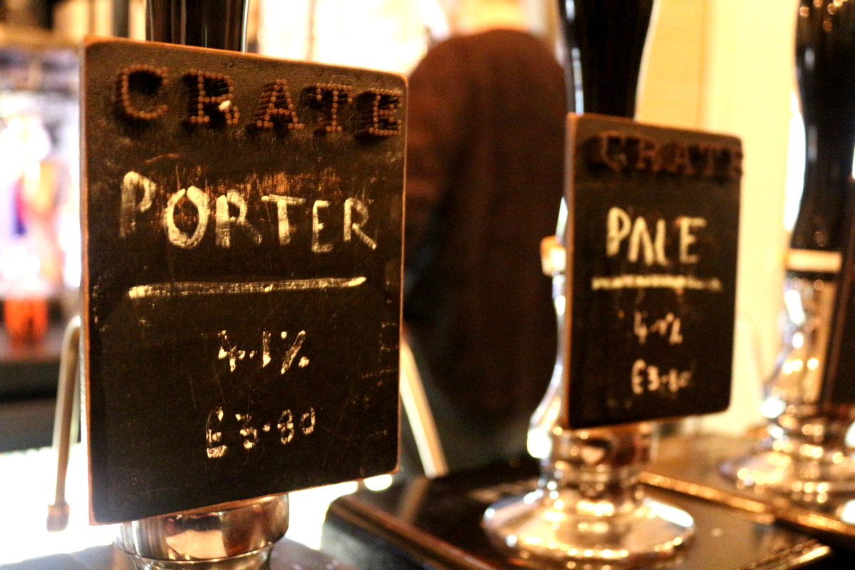 crate brewery london