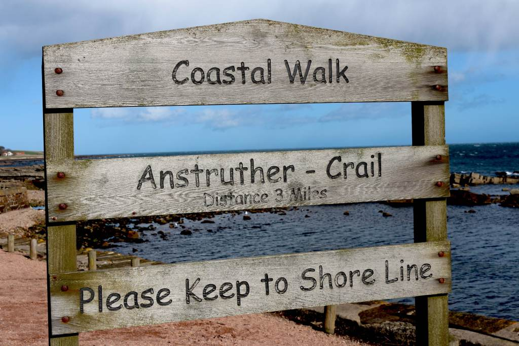 Walk the Fife Coastal Path from Elie to Crail