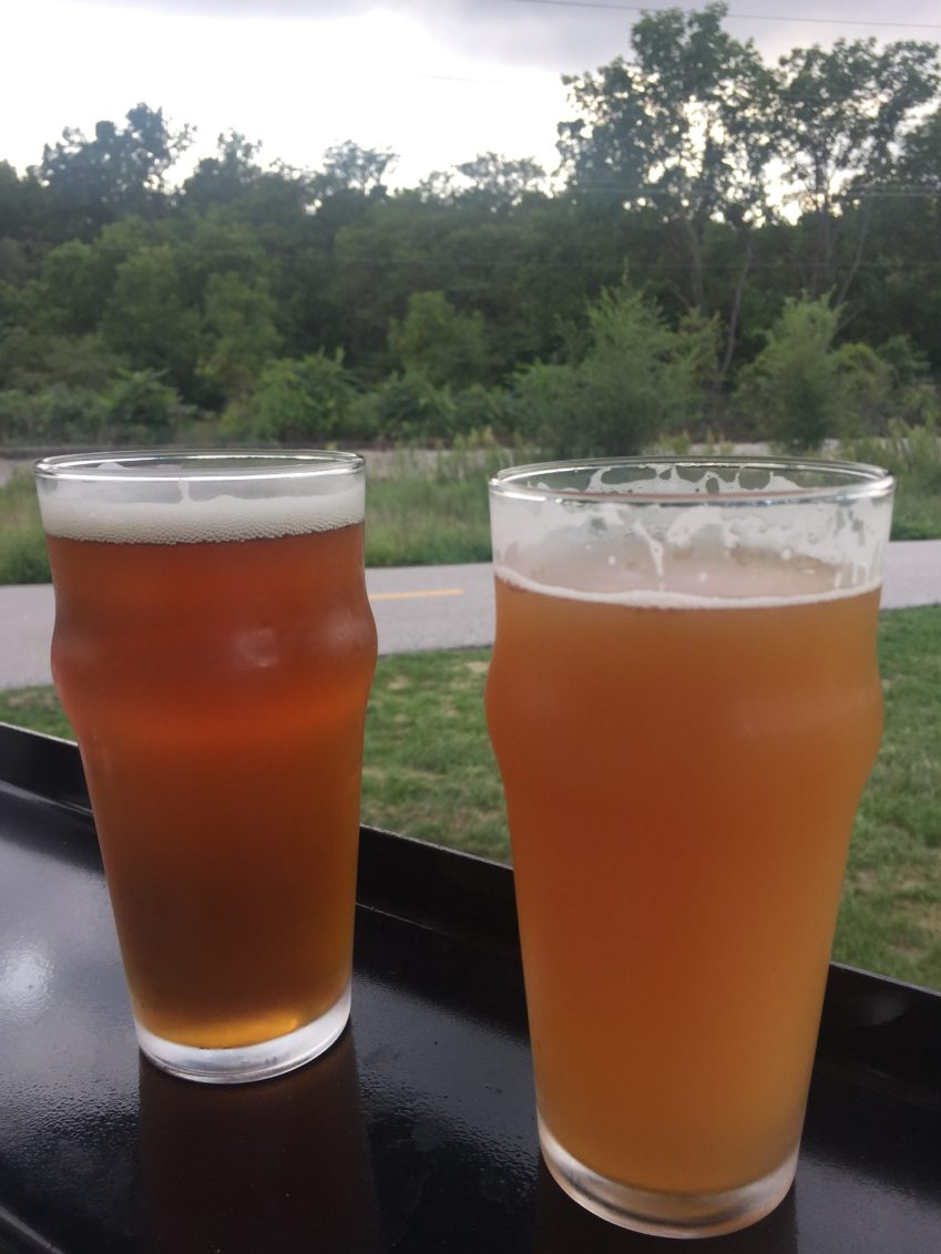 Craft Beer in Des Moines - greenbelt cycle routes in Iowa - 515 Brewery- theweekendguide.com