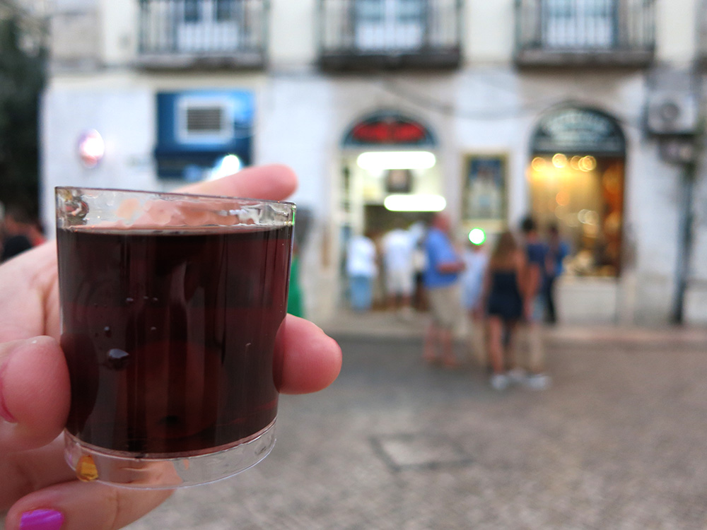 A Ginjinha - 7 Portuguese Foods You Should Try
