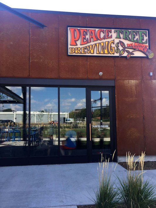 Craft Beer in Des Moines, Iowa - theweekendguide.com - Peace Tree Brewing
