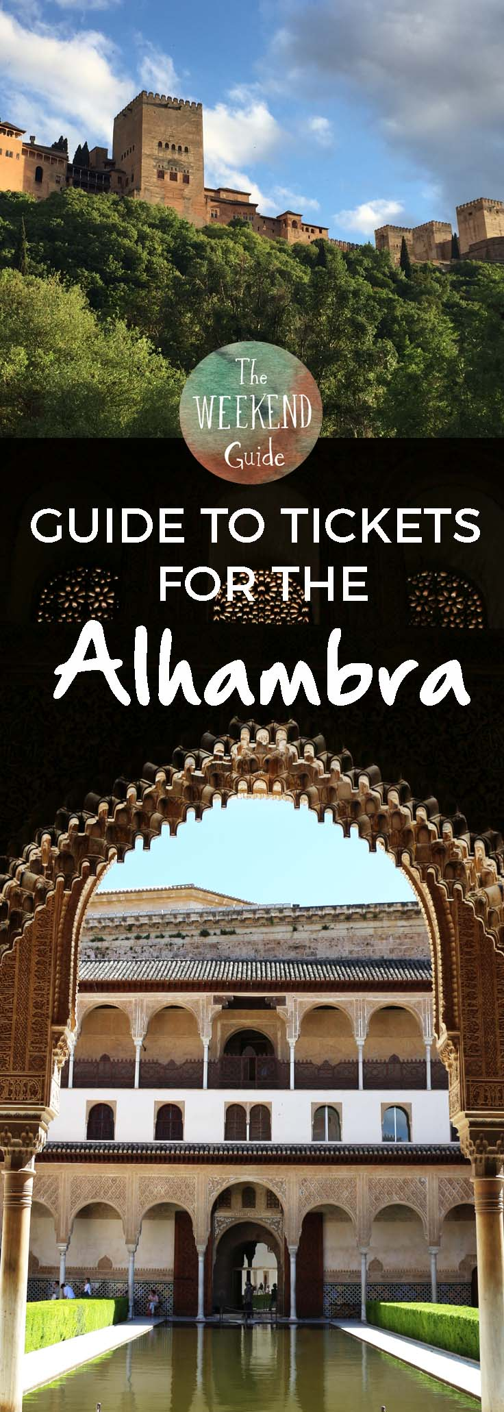 The Alhambra is said to be the most visited monument in Spain. And with good reason. This amazing place is a UNESCO World Heritage Site and is full of history and beauty. Perhaps you have already heard that you must book your Alhambra tickets in advance, sometimes up to a month or two ahead of your visit. Here are our tips for getting tickets and visiting the Alhambra in Granada even if you didn't plan ahead. - theweekendguide.com