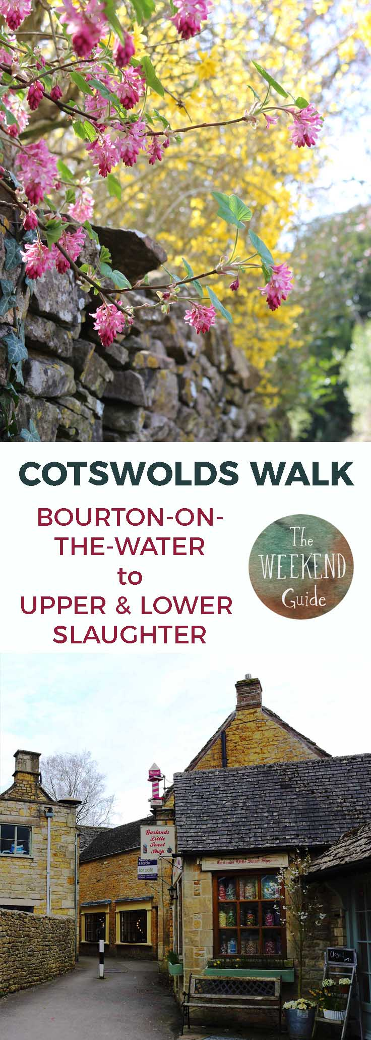Burton-on-the-Water is a popular tourist destination and for good reason. This cute and charming little village sits on a river in the heart of the beautiful Cotswolds. Start in Bourton for some lovely walks in the area!- theweekendguide.com