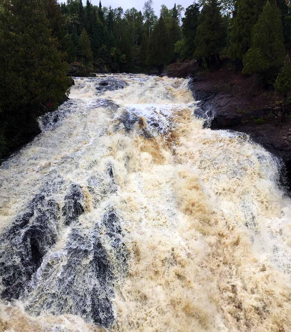 10 Waterfalls on Minnesota's North Shore - Cross River - Minnesota waterfalls