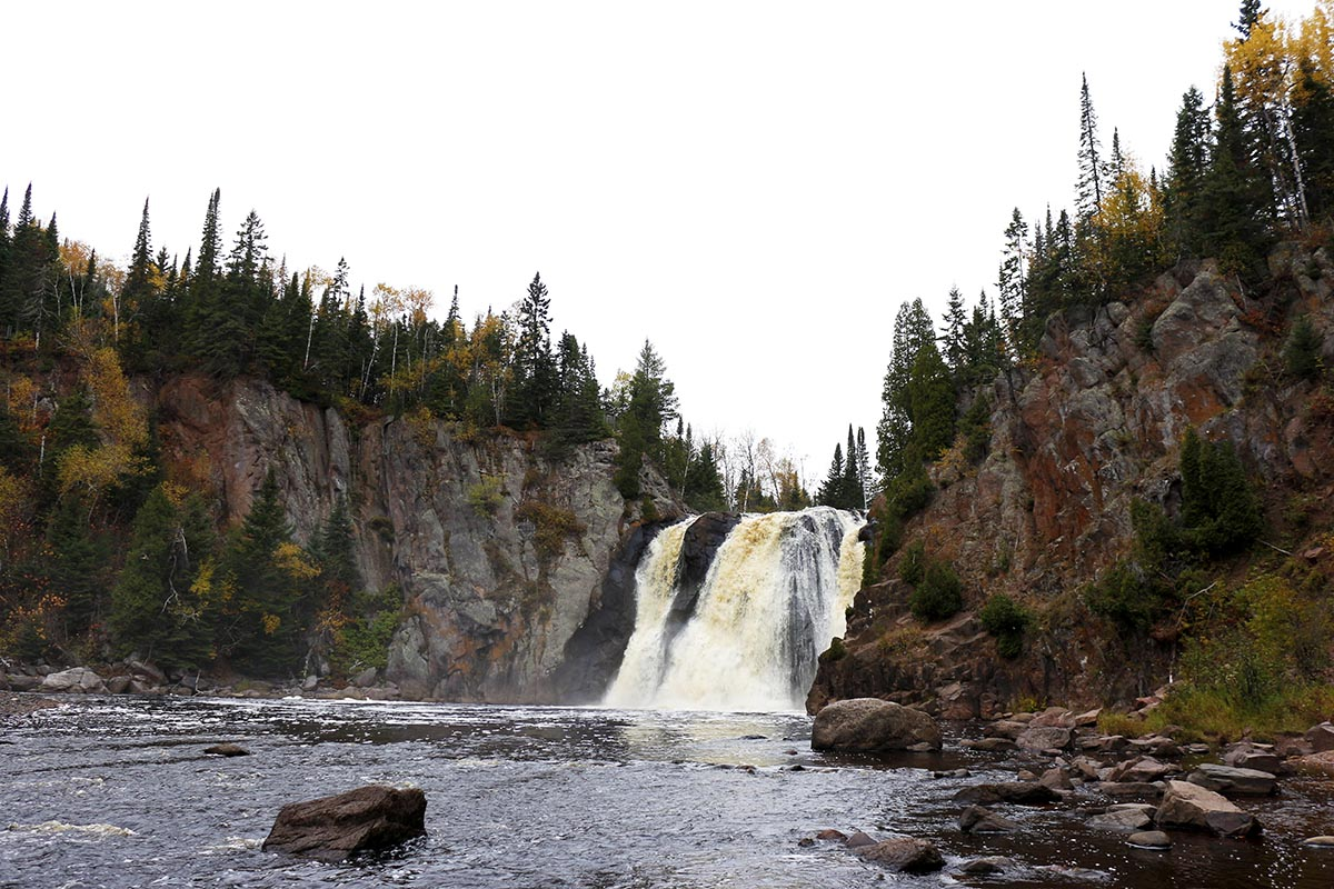 10 Waterfalls on Minnesota's North Shore - Tettegouche State Park - Minnesota waterfalls