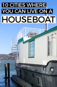 10 Urban Places to Live on a Floating Home - Check out these 10 houseboat communities that are in or near cities.
