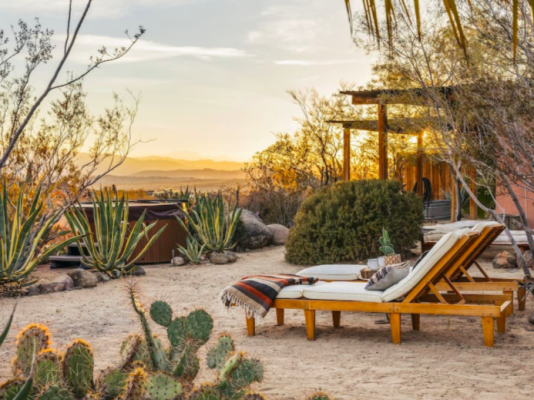 Cool Places to Stay Near Joshua Tree National Park