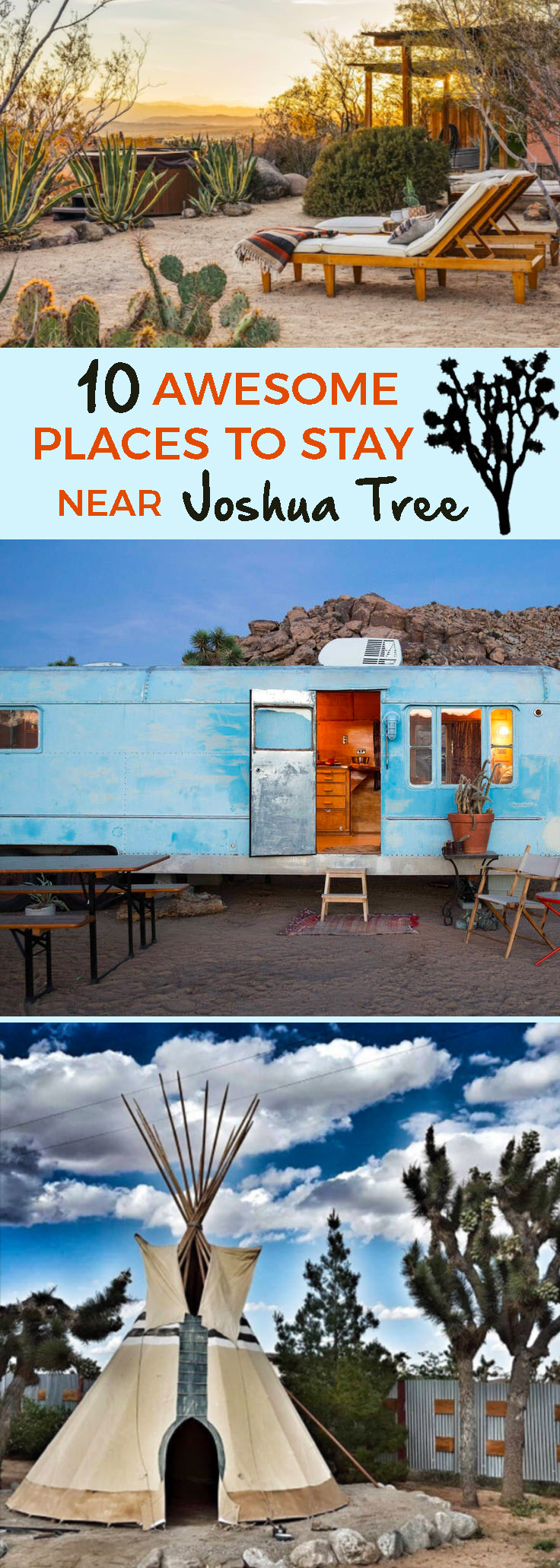 Joshua Tree National Park and surrounds have long been popular with artists, recluses and dreamers. Here are some amazing places to stay near Joshua Tree. - theweekendguide.com