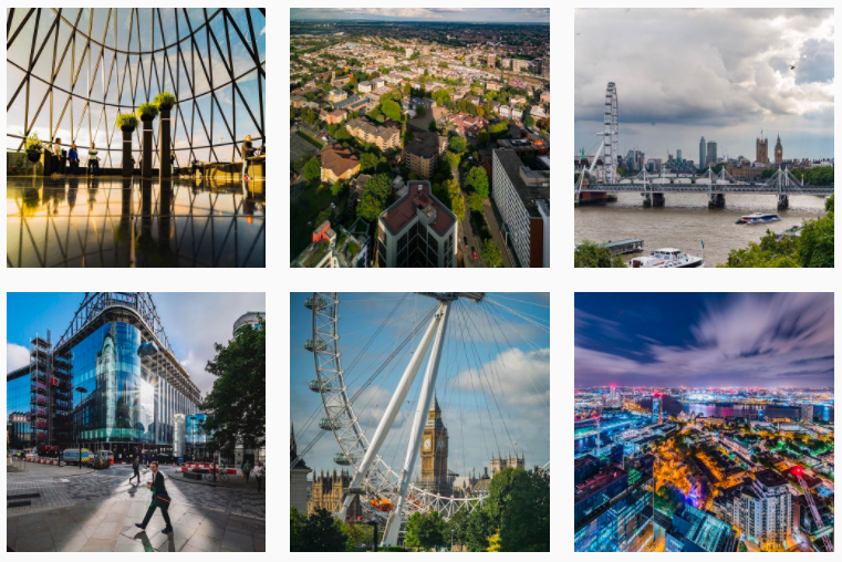 Best London Instagrammers: Get inspired by the Best London Instagram Accounts :: londonviewpoints