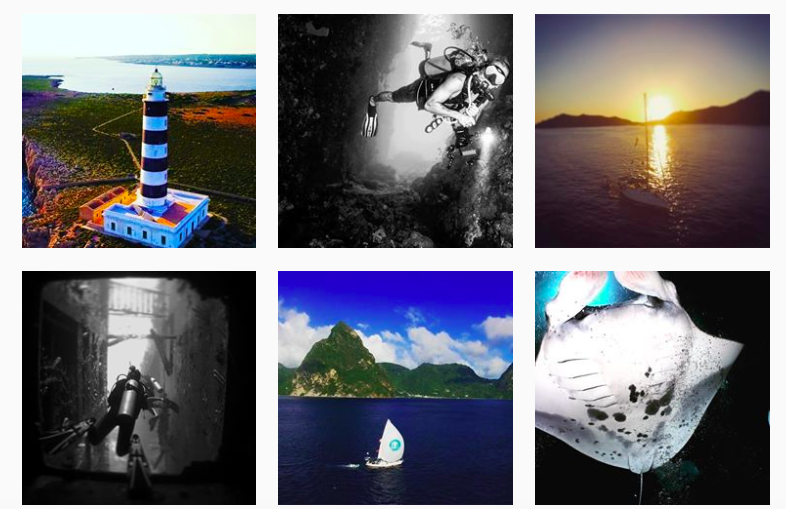 10 Sailing Instagrammers to Inspire You - Drenched Divers