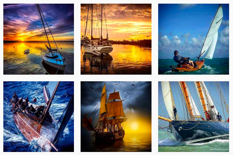 Best Sailing Instagrams to Inspire You- sailors n yachts