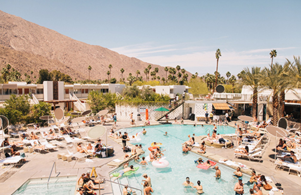 Fun Hotels in Palm Springs & the Best Pools in Palm Springs for Adults