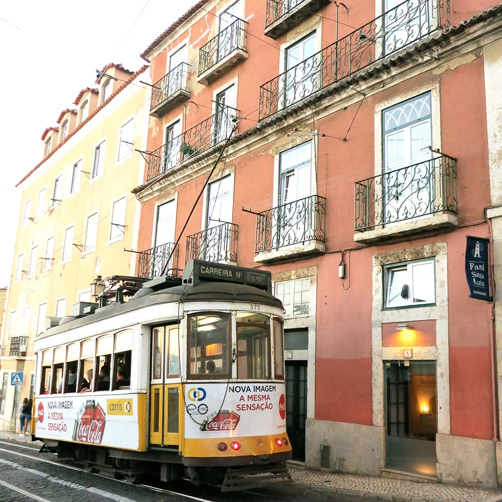 Getting to Lisbon and getting around -ride the historic trams
