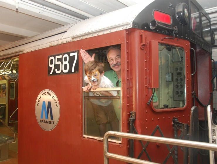 Party on Wheels at New York Transit Museum