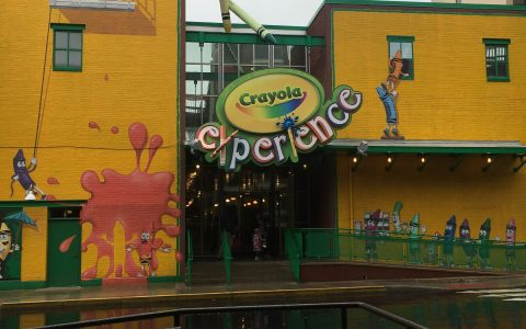 crayola experience with kids