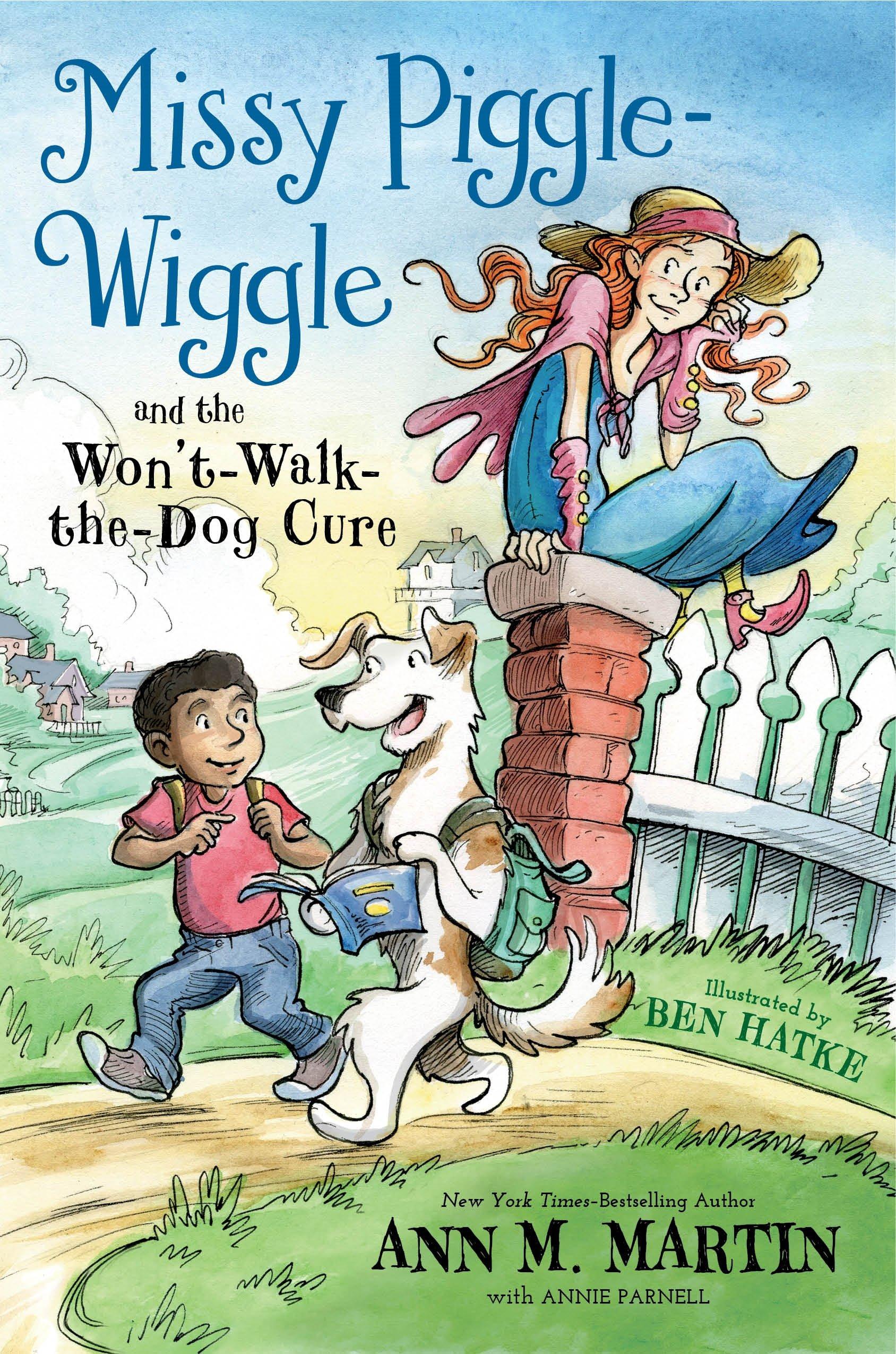 new books kids Missy Piggle Wiggle and the Won't Walk the Dog Cure