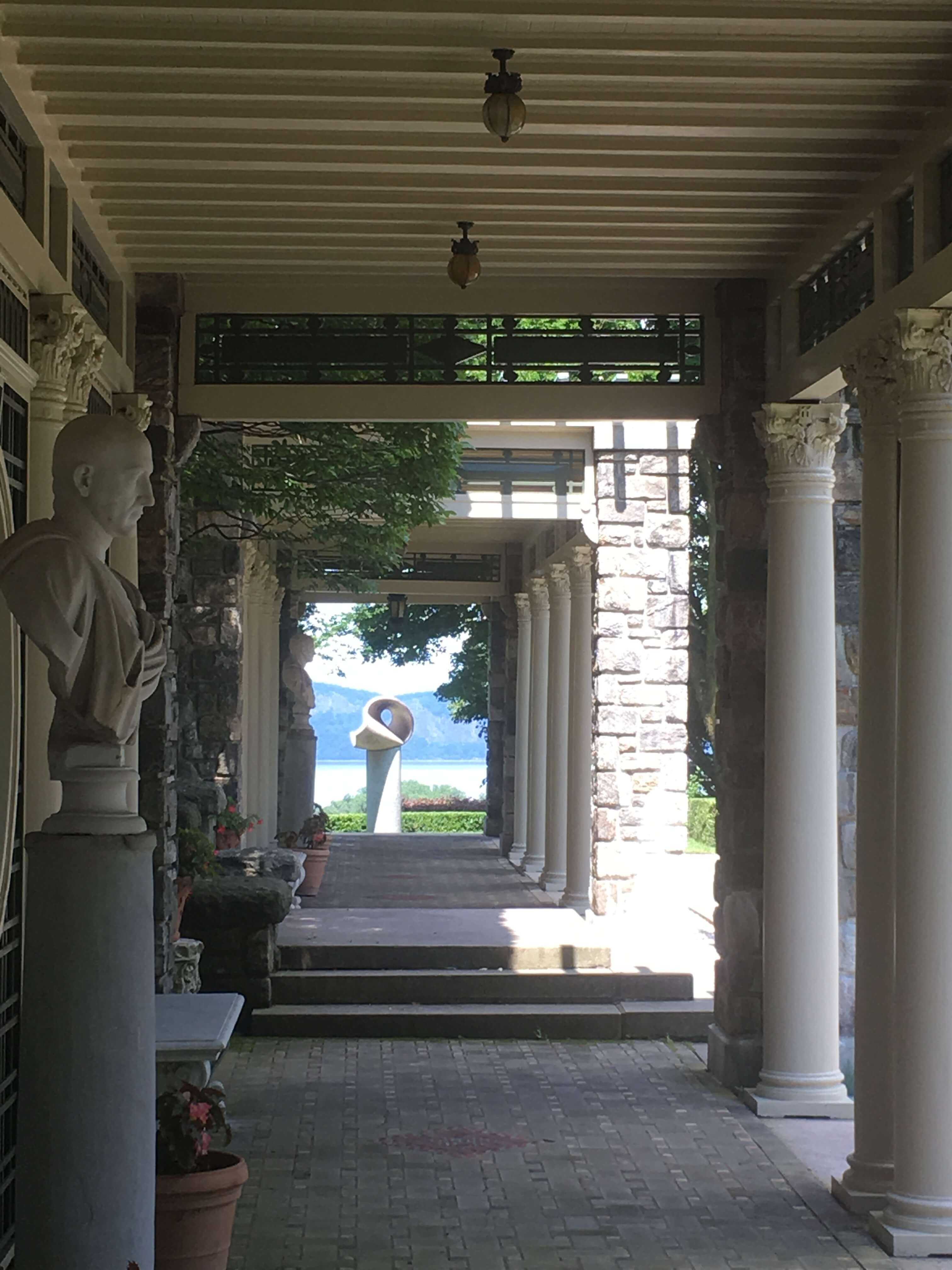 Kykuit the rockerfeller house art
