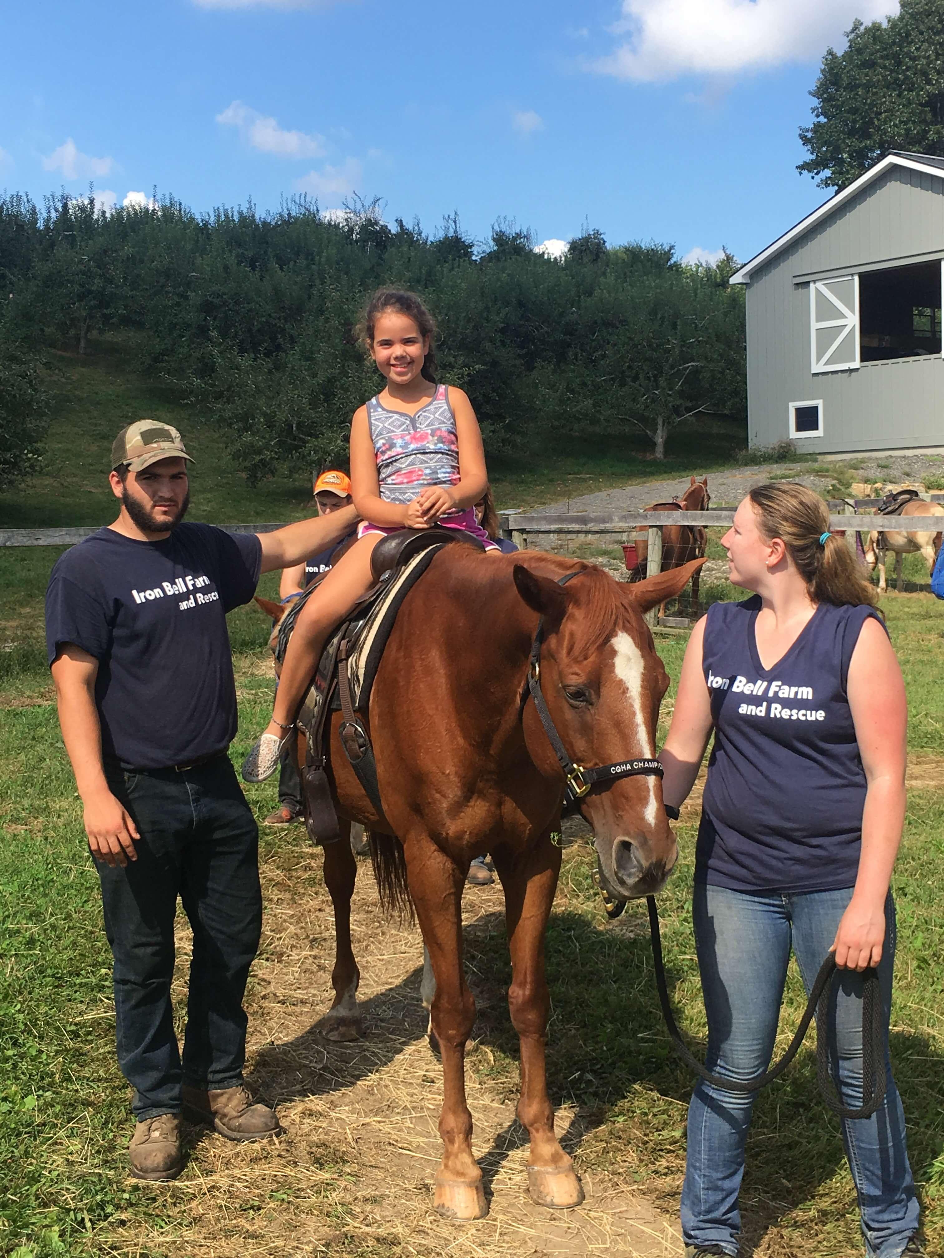 pony rides at harvest moon apple picking