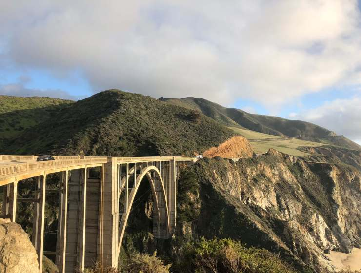 exploring big sur in california
