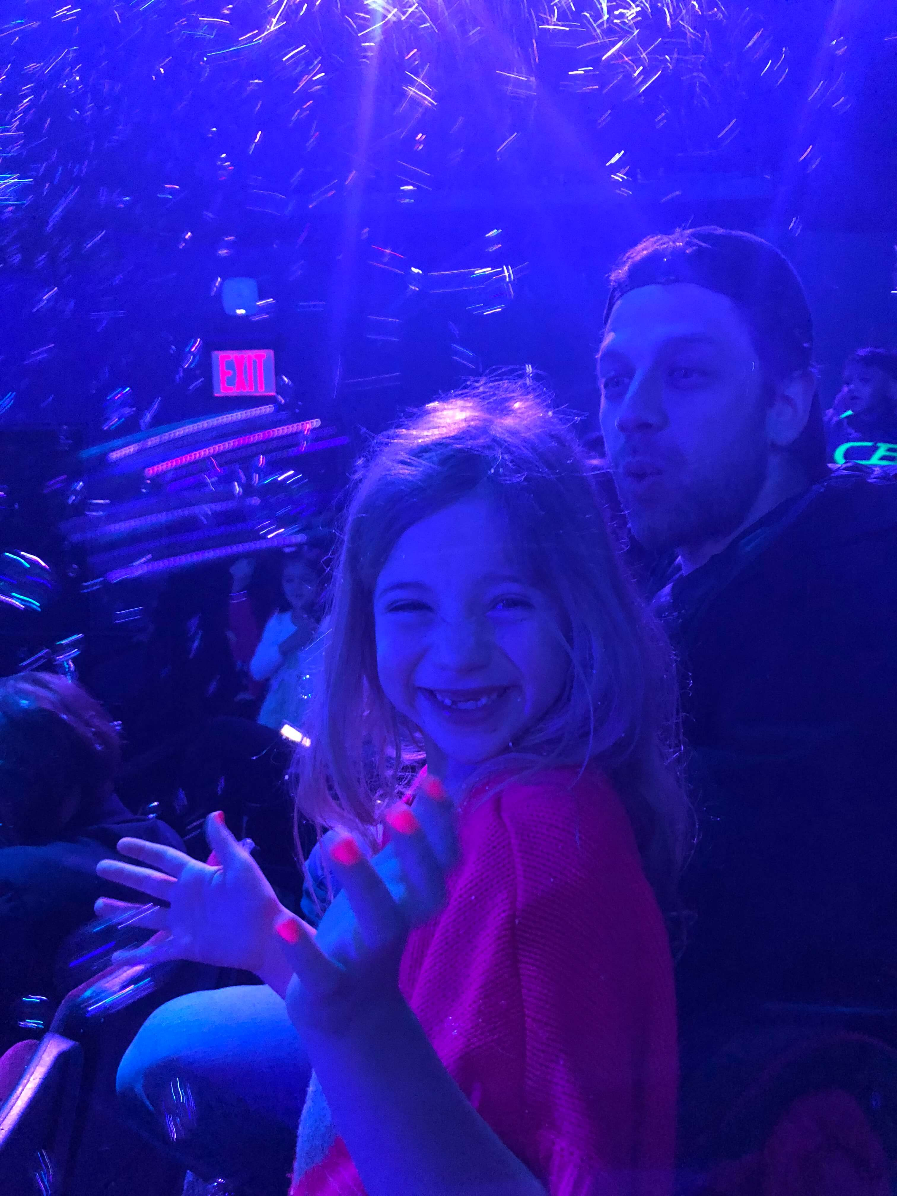 Gazillion Bubble Show in nyc for kids