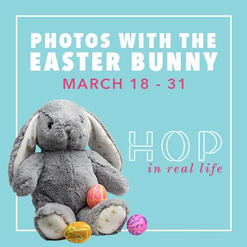 Photos with the Easter Bunny weekend rundown