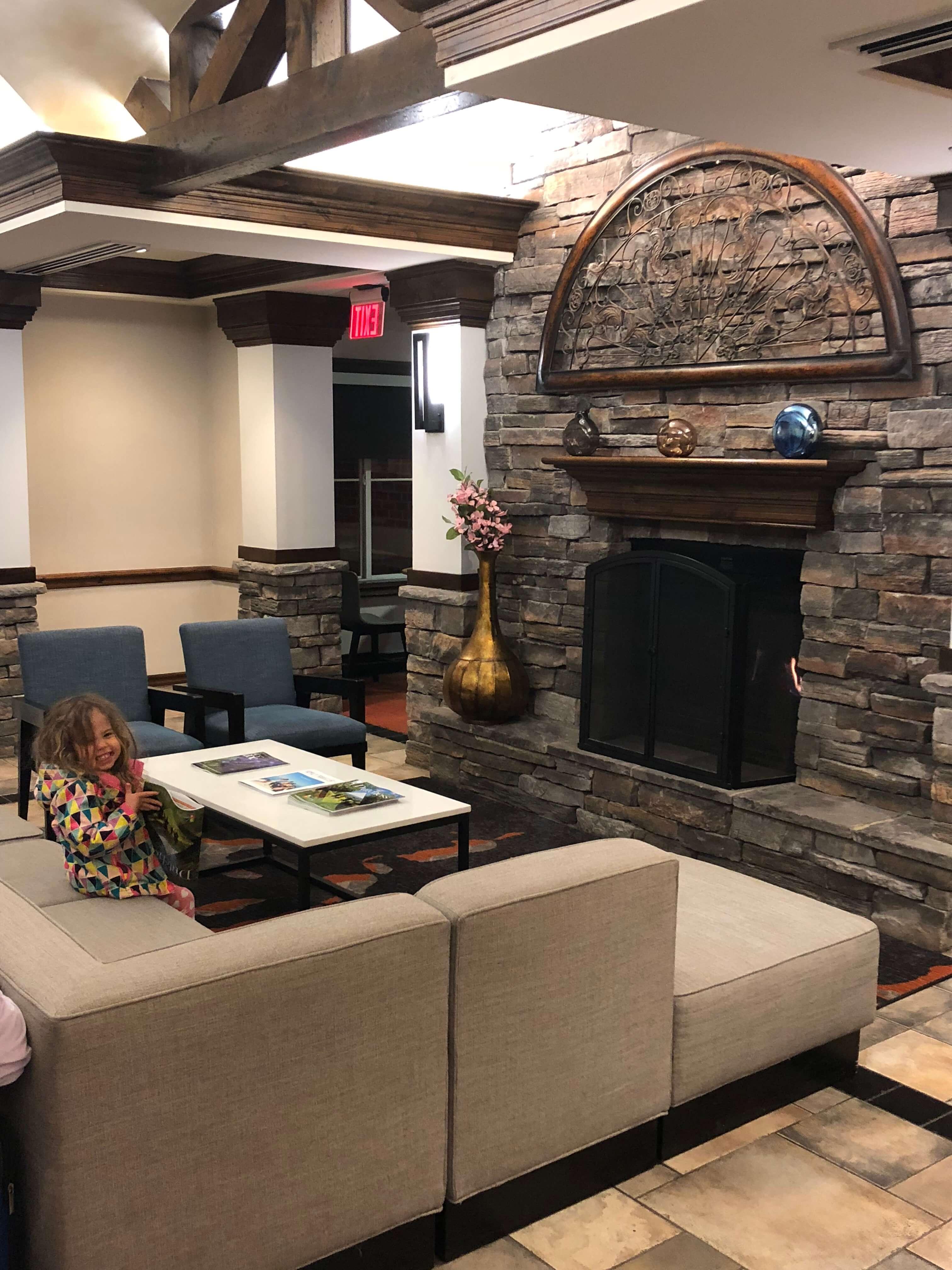 Luxurious lobby for Families at Hyatt House Fishkill/Poughkeepsie