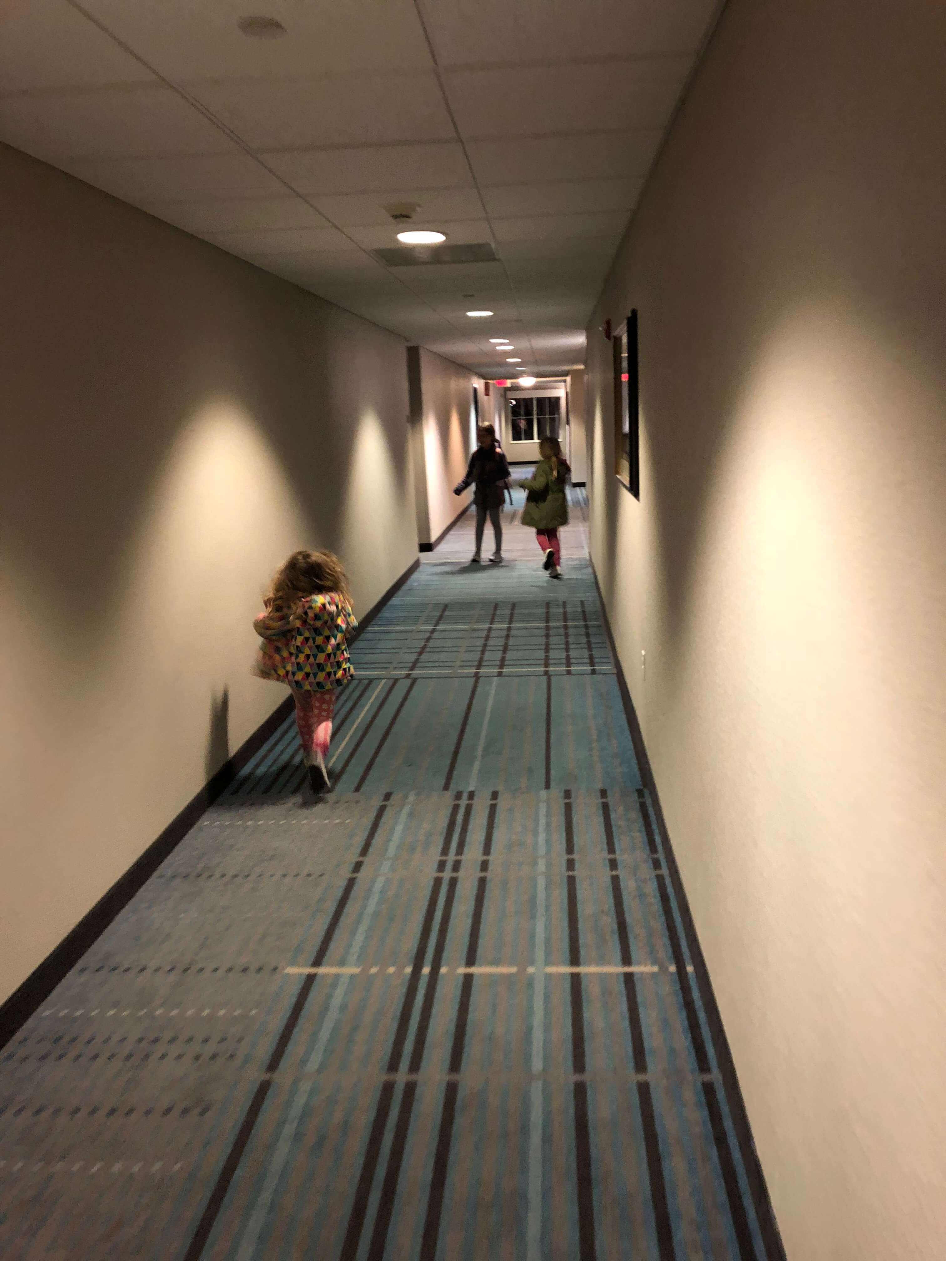 hallway run Luxurious Suites for Families at Hyatt House Fishkill/Poughkeepsie