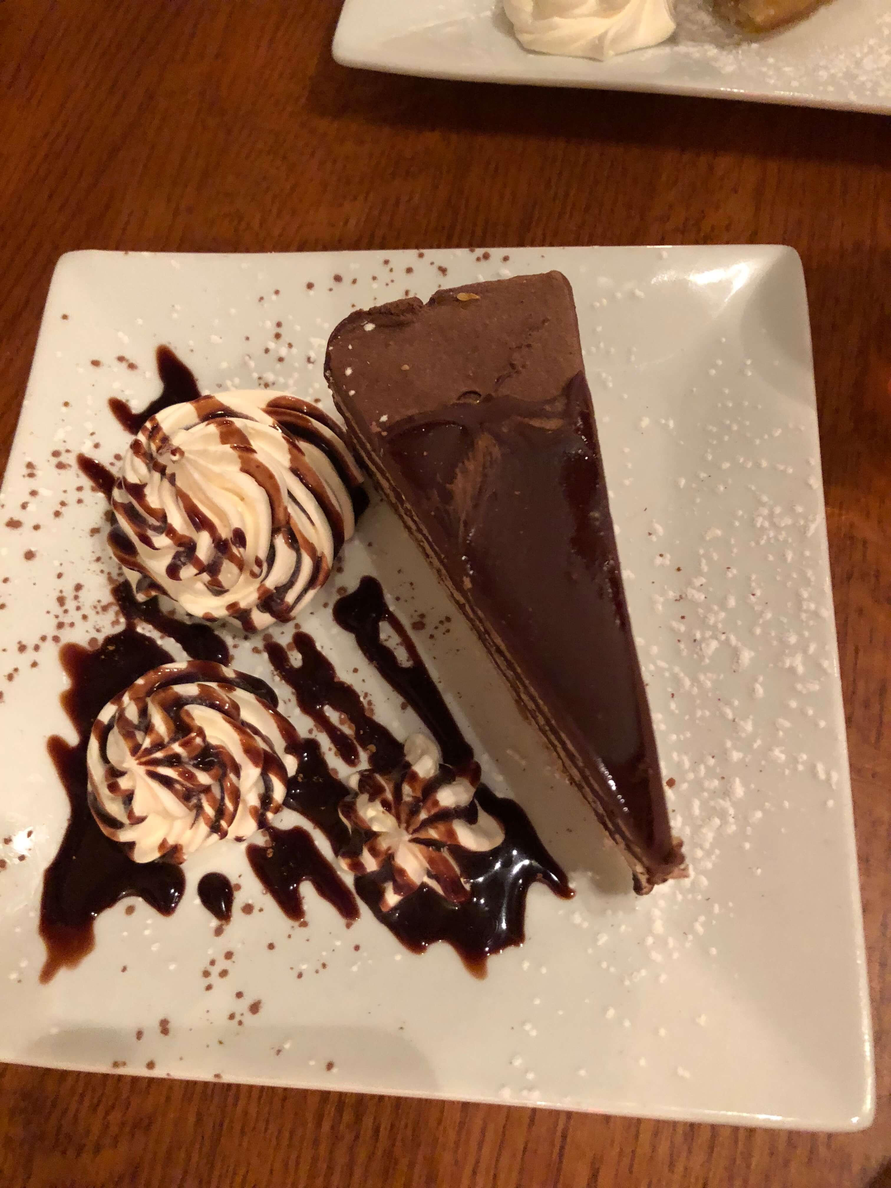 whetson station chocolate cake