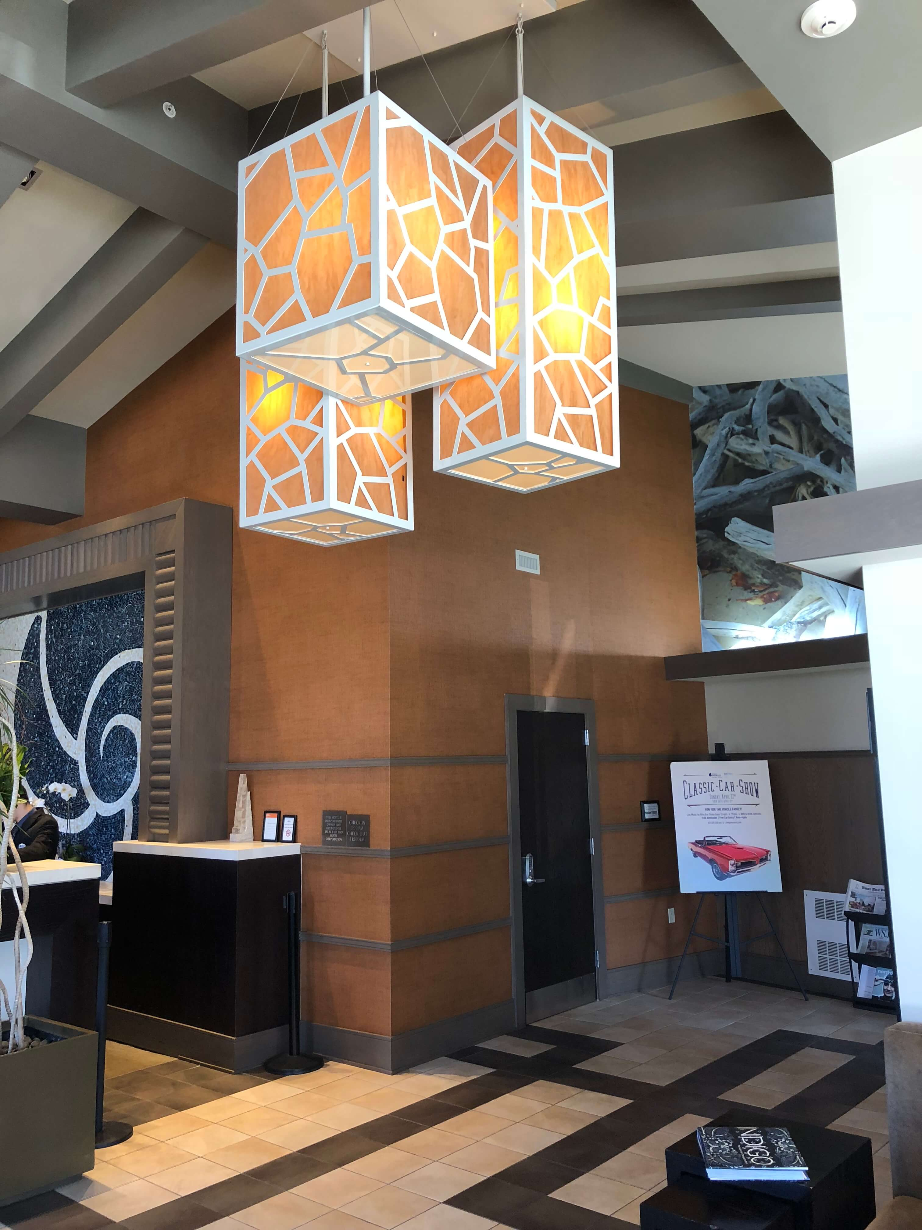 Weekend Escape to Long Island at Hotel Indigo East End lobby