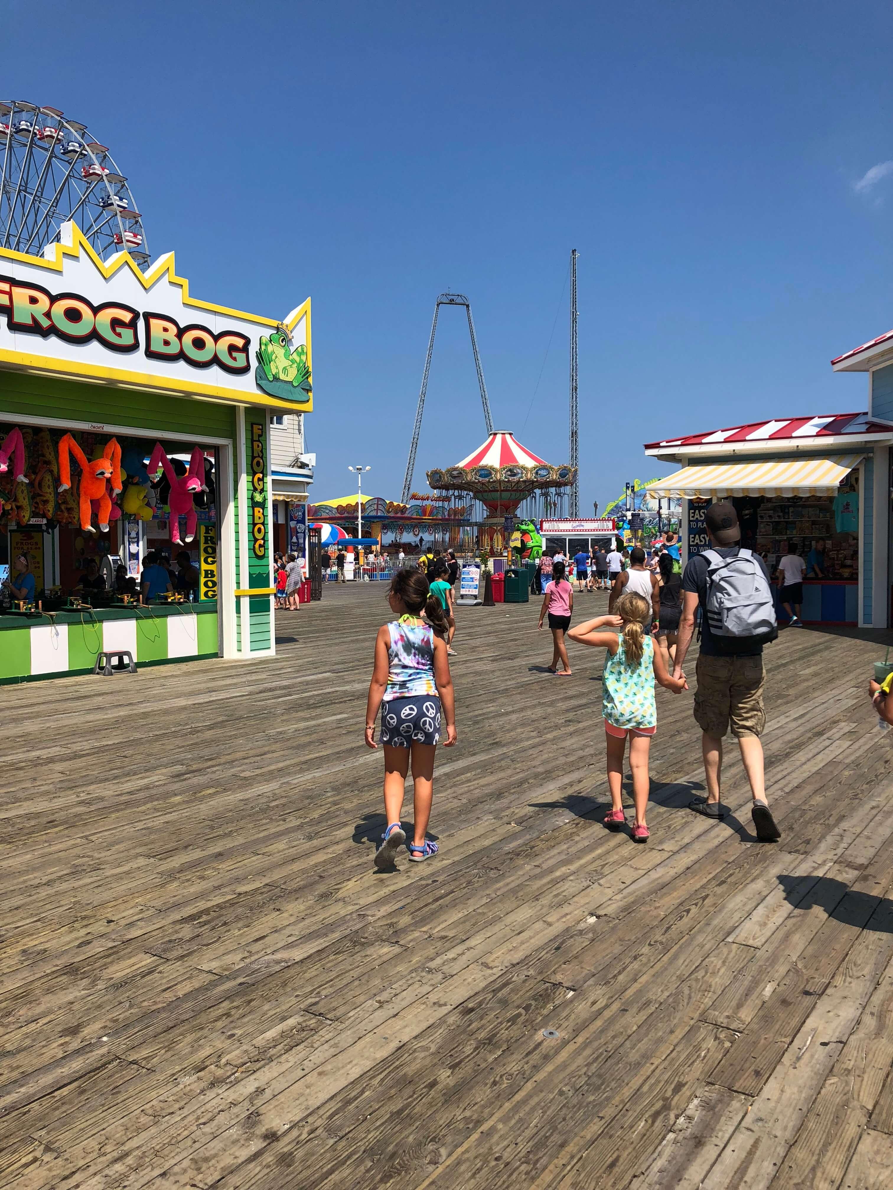 Casino Pier Breakwater Beach