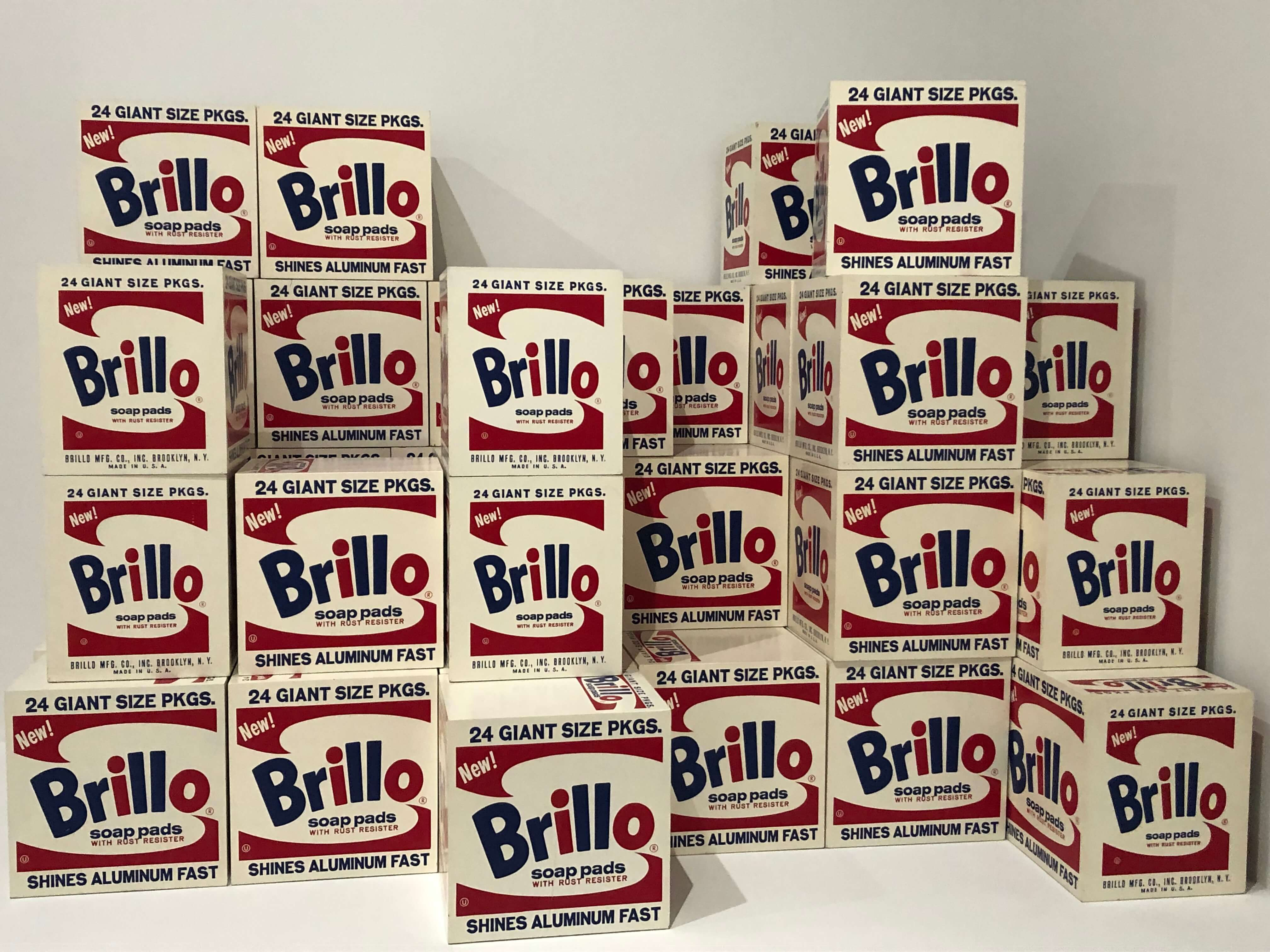 Andy Warhol— From A to B and Back Again Brillo