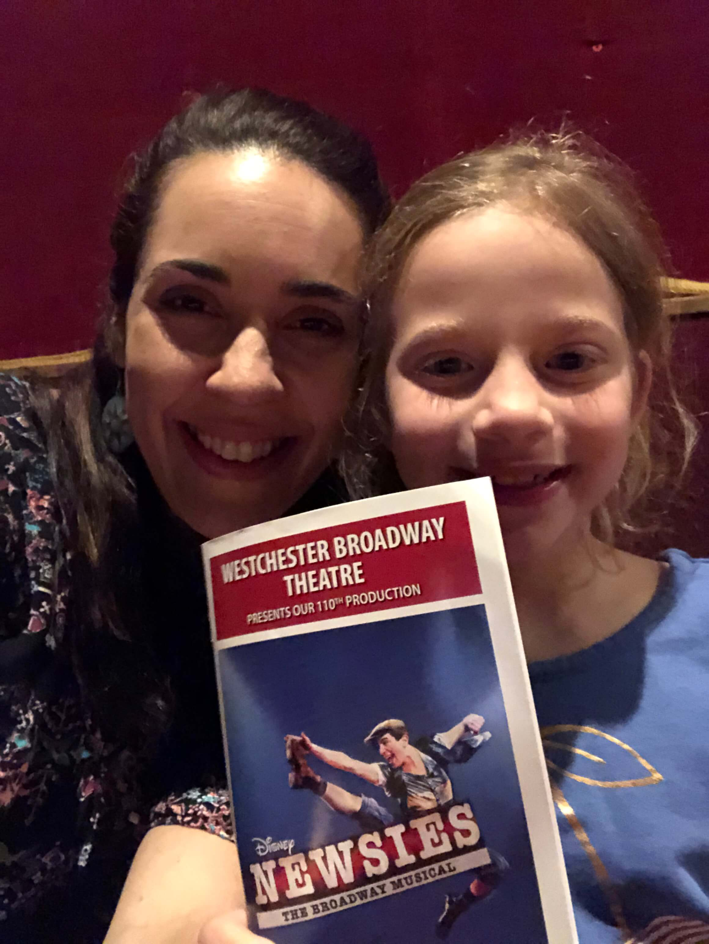 Must see family fun at Newsies with the Westchester Broadway Theater