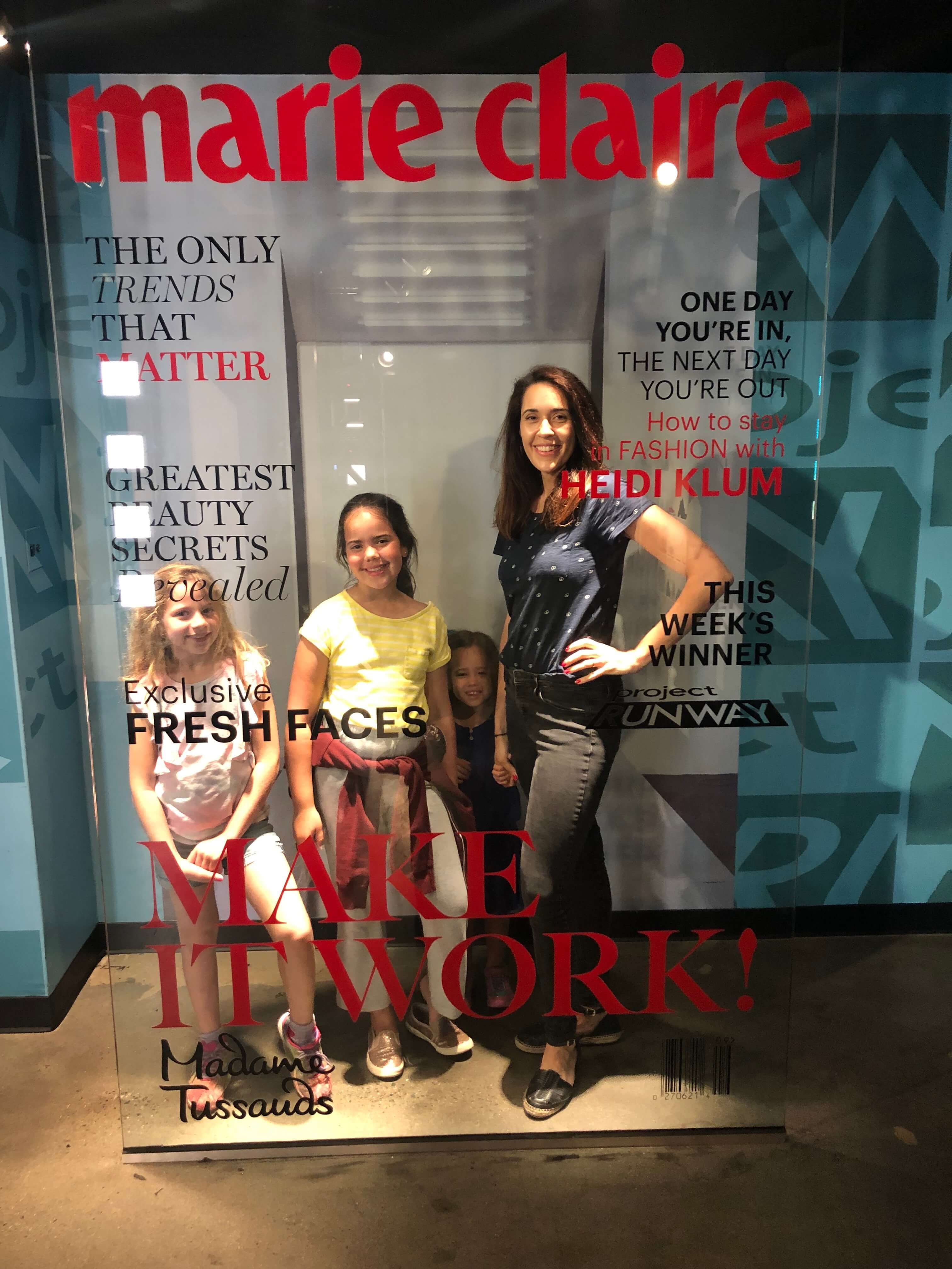Madame Tussauds New York Presents Broadway Marie Claire