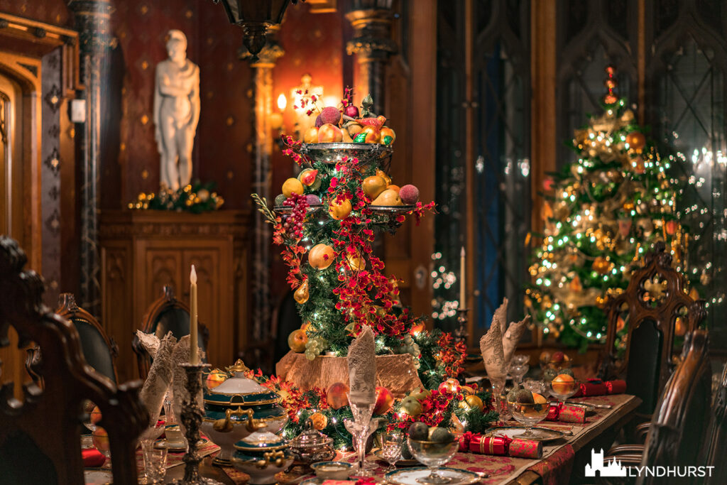 Classic Mansion Tours, Thursdays through Mondays, December 2nd through December 30th