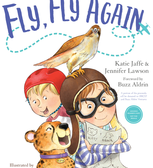 """New Book """"Fly, Fly, Again"""" Encourages Kids to Follow Their Dreams+ Author Interview"""