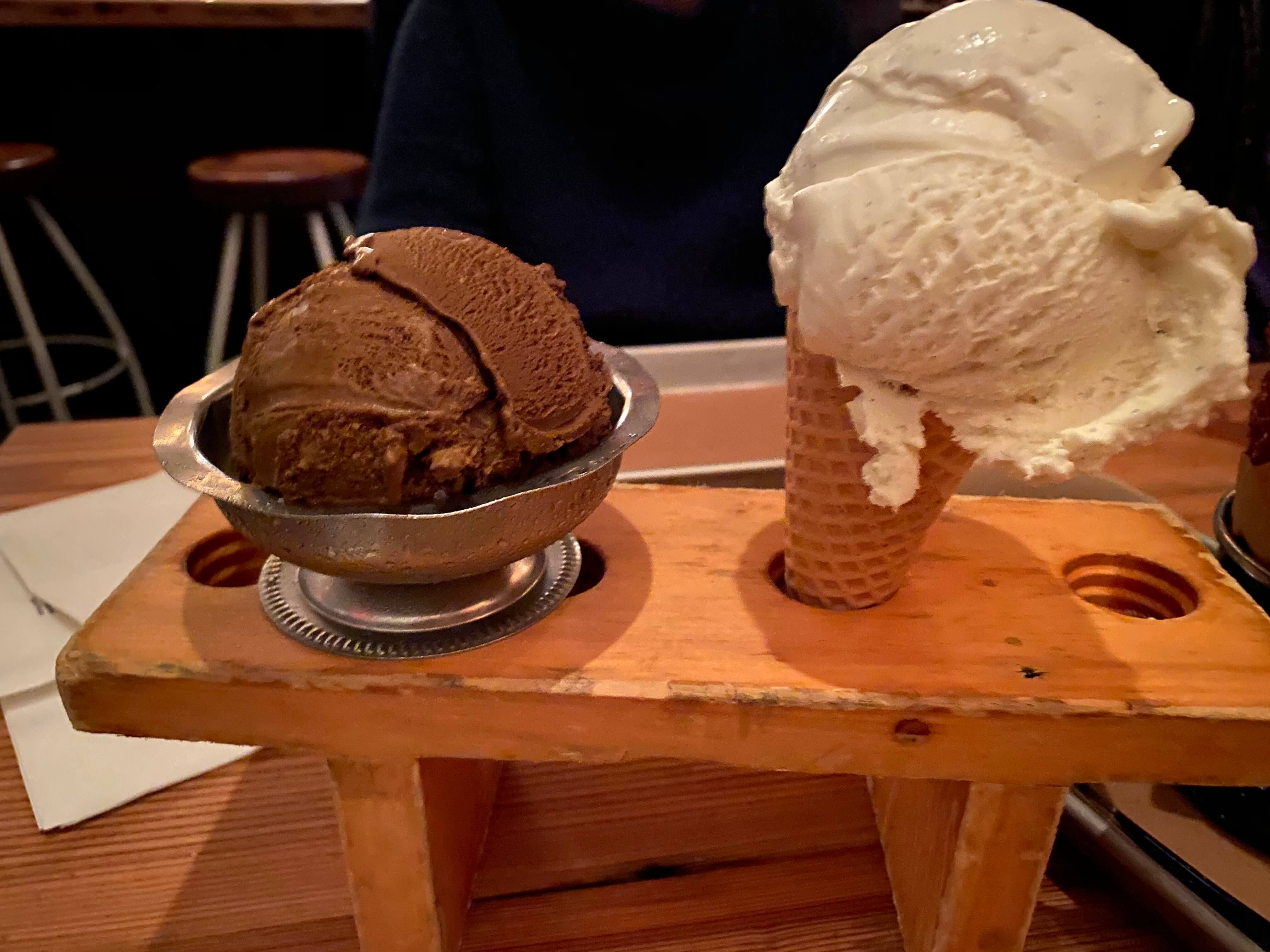 ice cream at bartaco in port chester