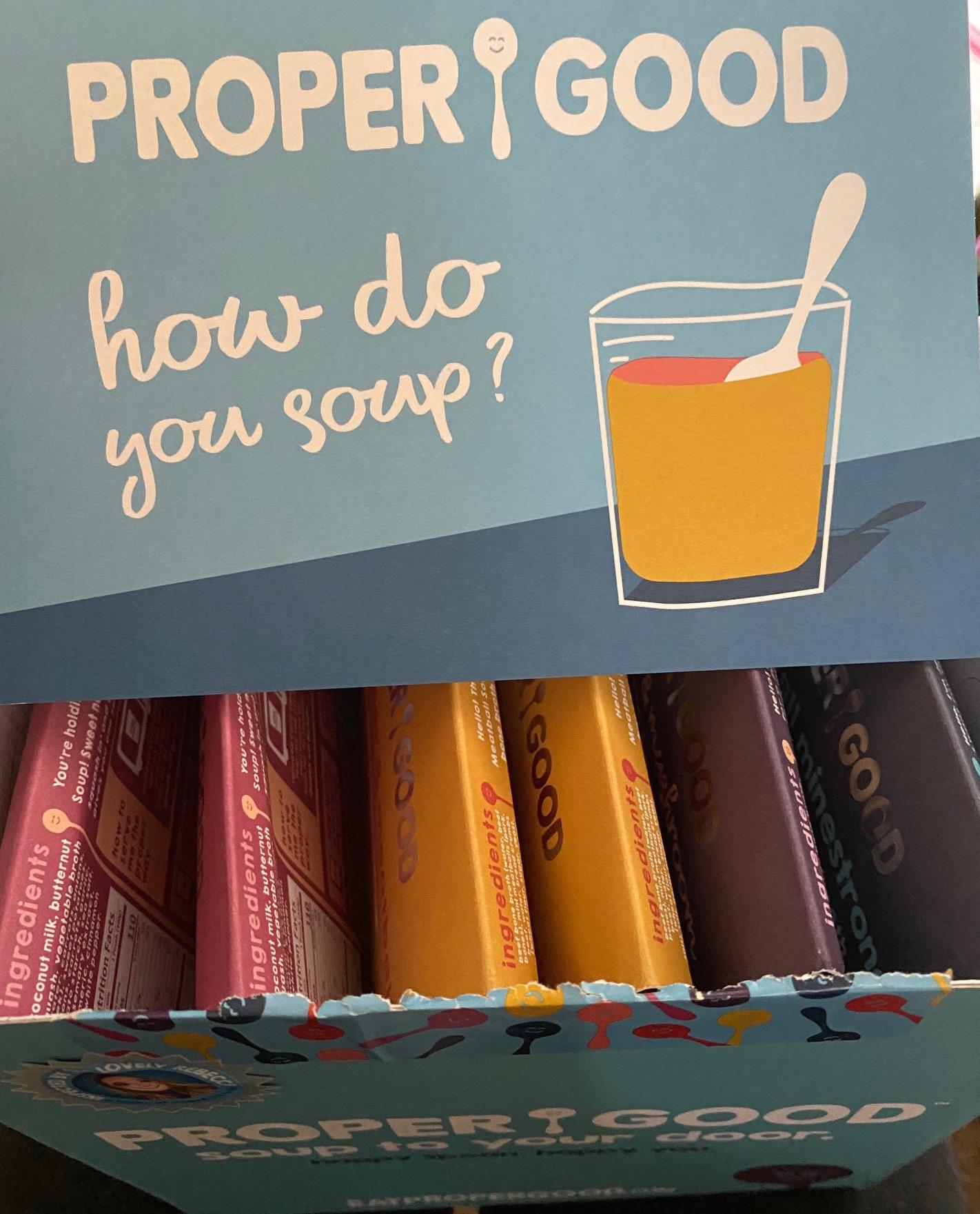Proper Good Soup