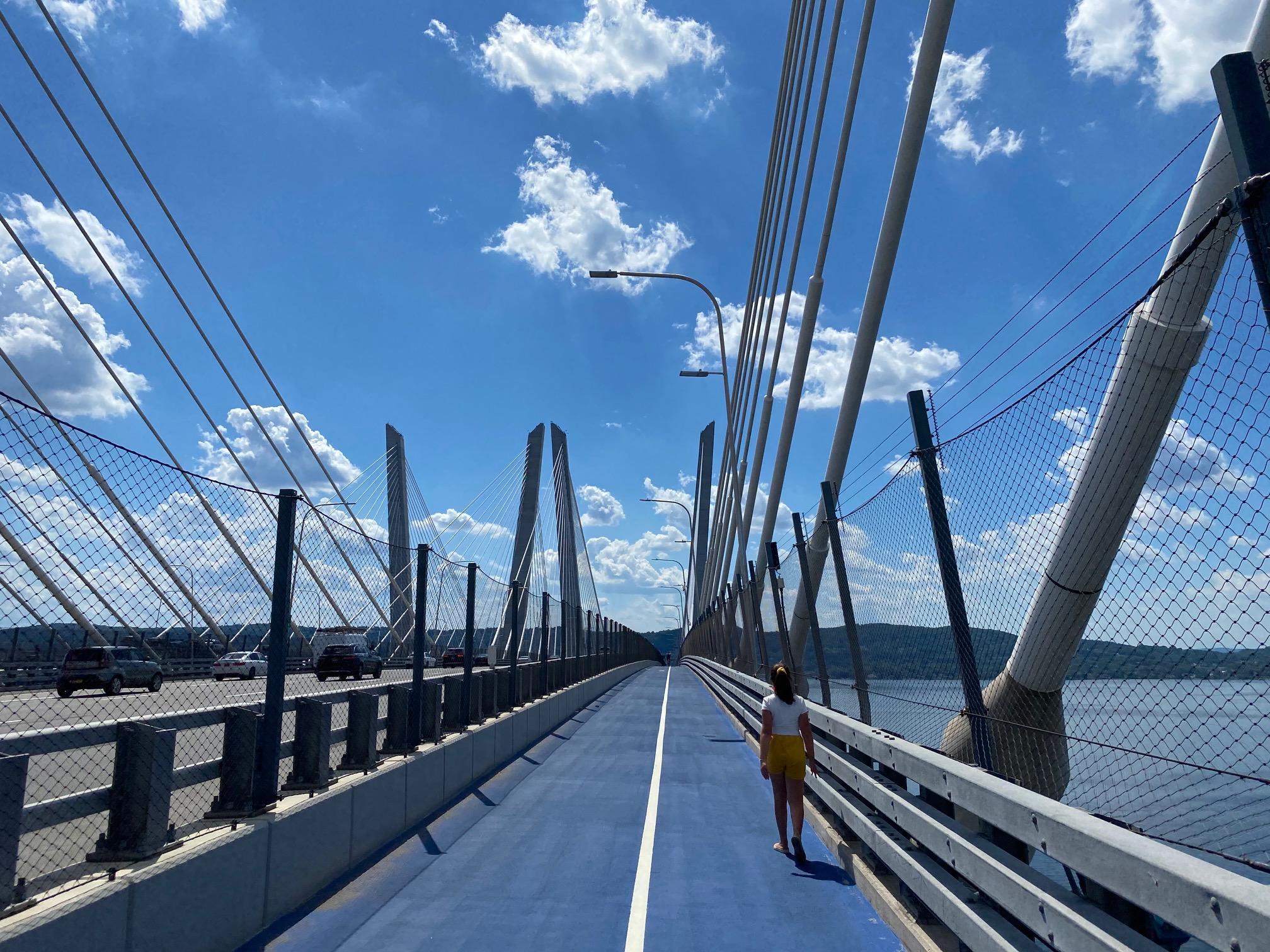 Exploring the Governor Mario M. Cuomo Bridge Path