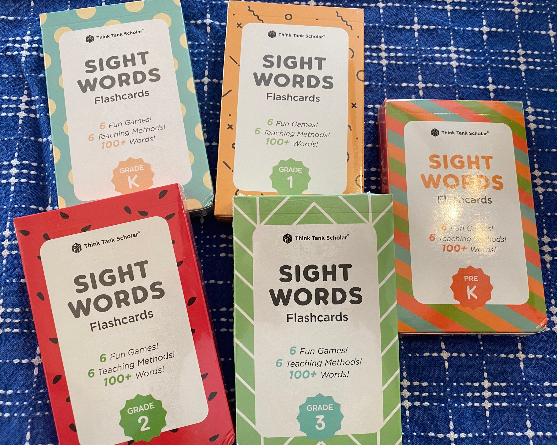 Think Tank Scholar Learning Tools for Kids sight words