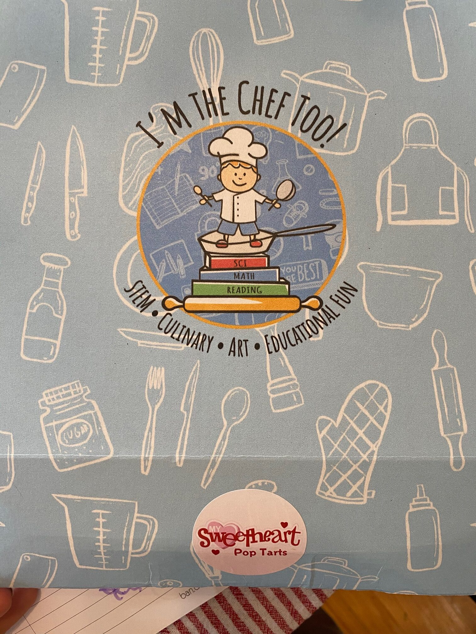 I am a Chef Too, a curated box that features food, STEM, and the Arts.