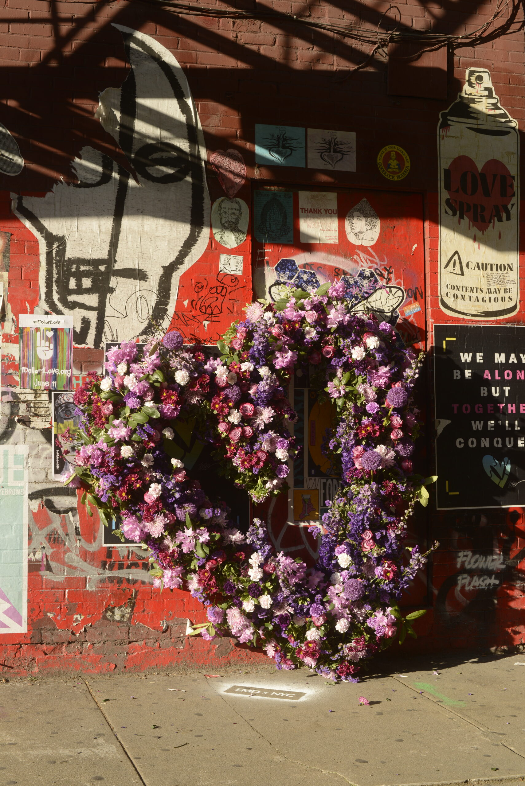 L.E.A.F Festival of Flowers Blooms in the Meatpacking District