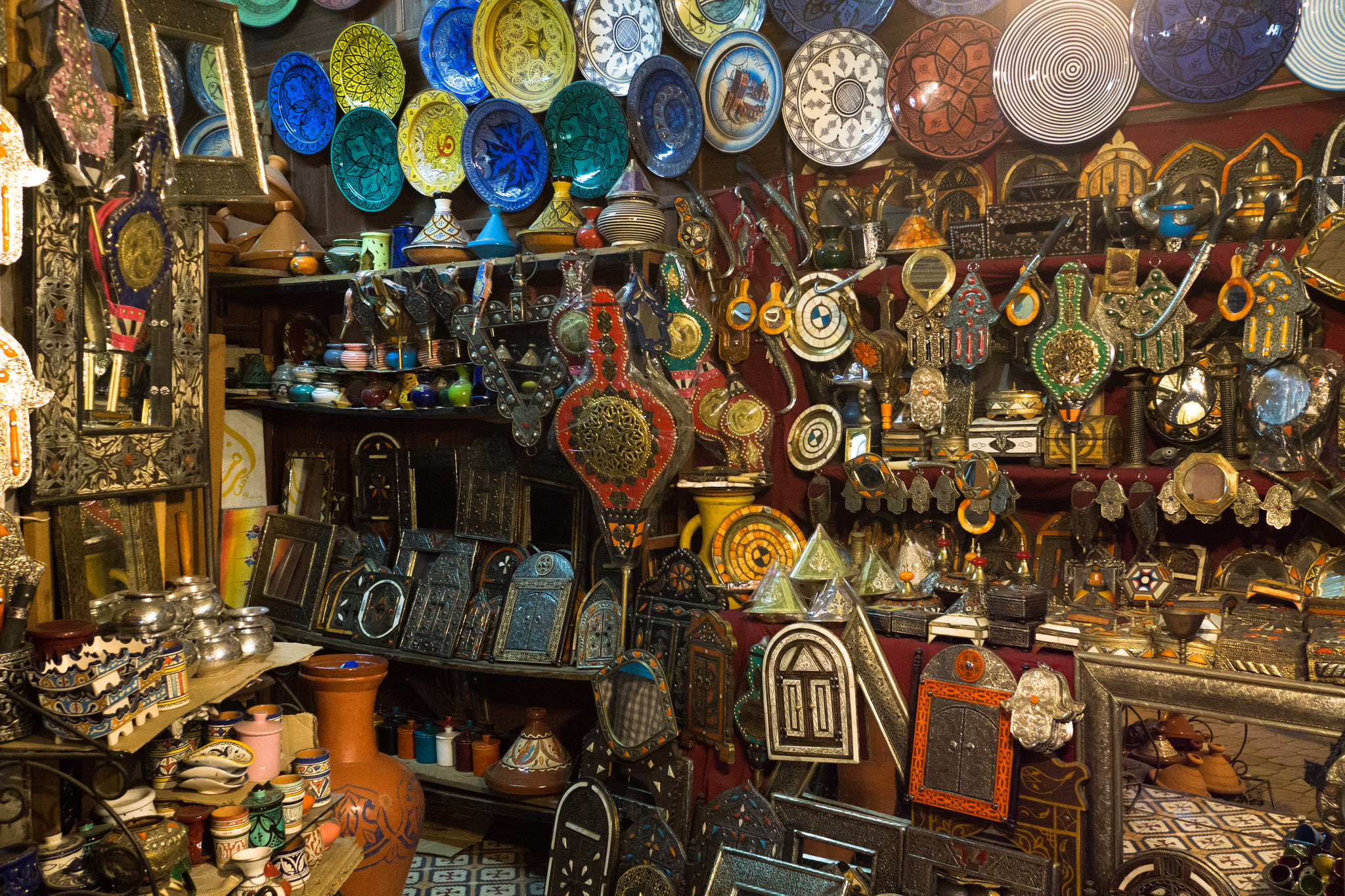 Shopping in Marrakech, Morocco