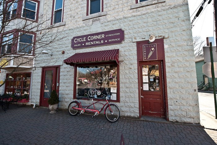Renty bikes in Frenchtown, NJ (photo by flickr4jazz/Flickr)