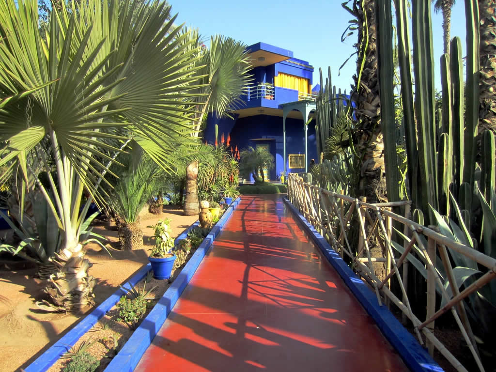 Jardin Majorelle, Marrakech by davidstanleytravel on Flickr