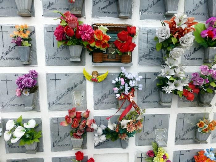 Cemetery in Usaquen, Bogota