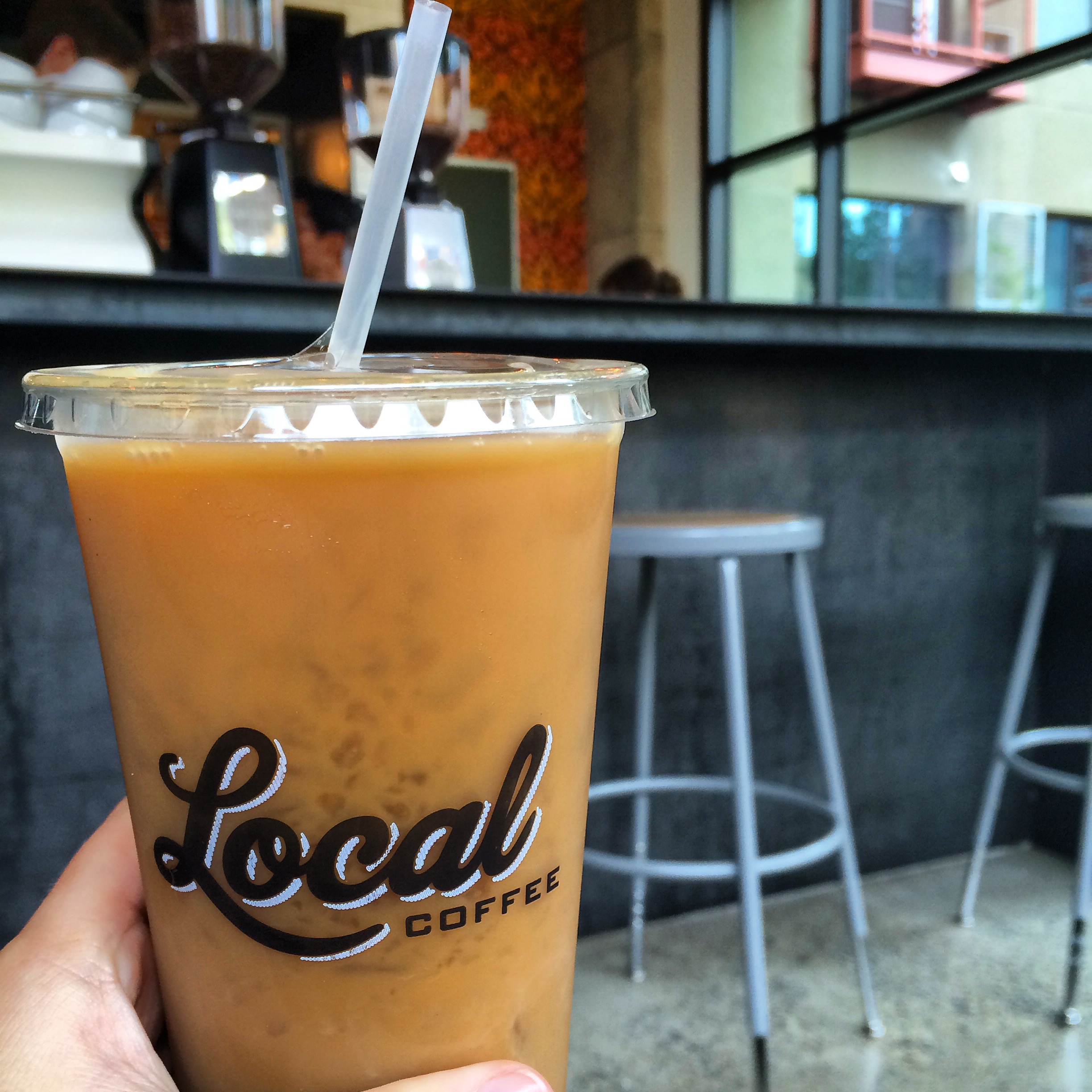 Local coffee shop at Pearl Brewery in San Antonio | TheWeekendJetsetter.com