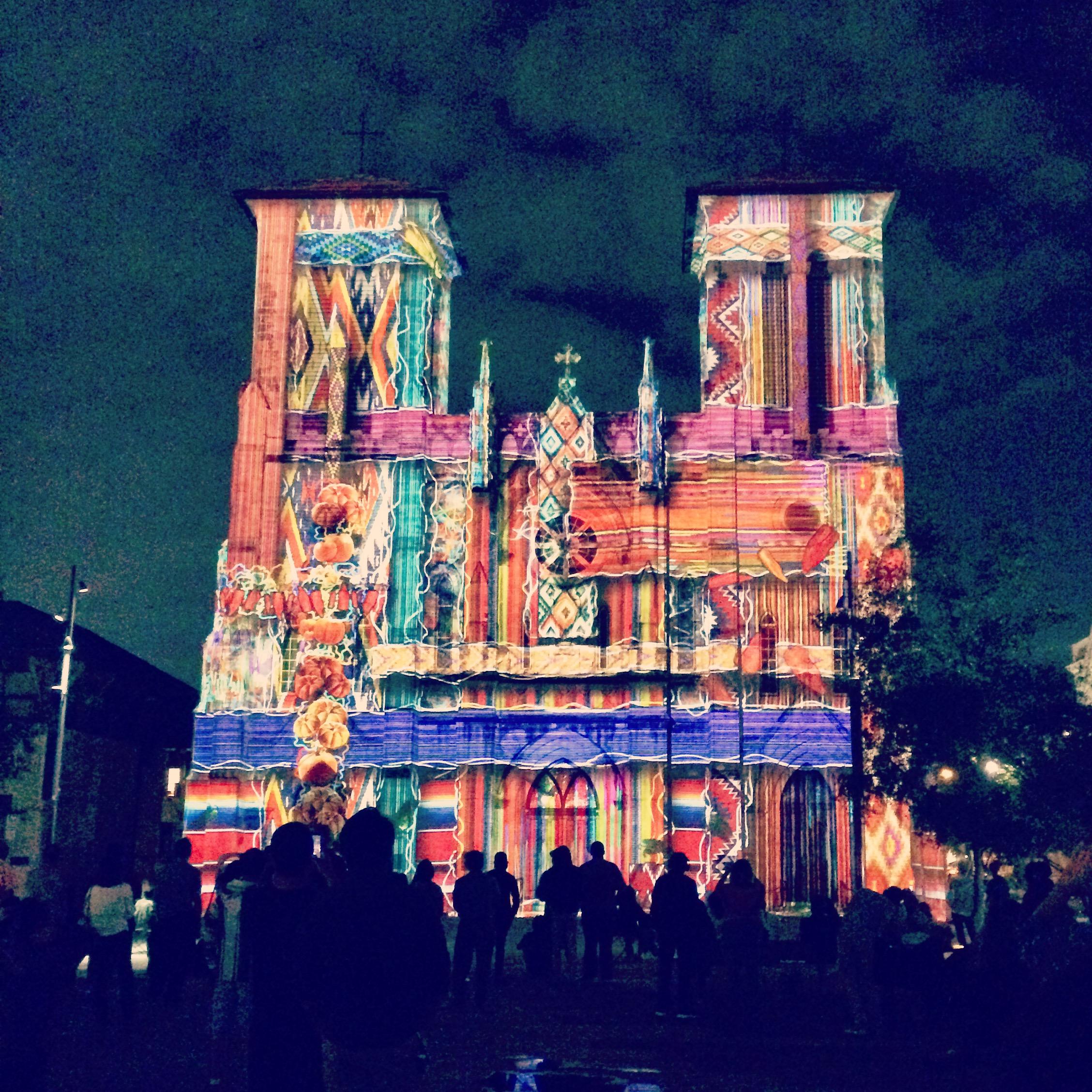 San Fernando Cathedral projection show, San Antonio | TheWeekendJetsetter.com