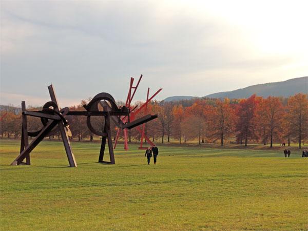 Storm King Sculpture Garden in New York's Hudson Valley | TheWeekendJetsetter.com